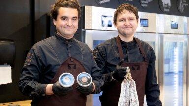 Matsimoka lihatööstuse igapäevatööd juhivad vennad Sten (vasakul) ja Jan Inno.