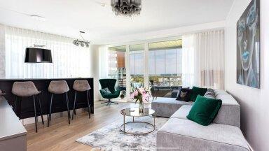 FOTOD | Luksuslik korter Lasnamäe piiril võlub suure rõdu ja imeliste vaadetega
