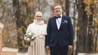 FOTOD | Abielu kriisi trotsides: Liisa ja Indreku 90 külalisega pulmad 2020. aasta sügisel