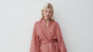 Linane kangas laseb nahal hingata. Reservedi kimono, 59.99