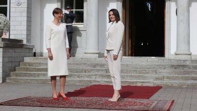 Kaljulaid ja Tsihhanovskaja