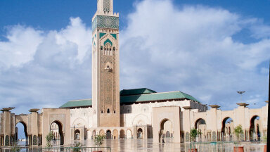 Hassan II mošee Casblancas on üks väheseid, kuhu pääsevad ka mittemoslemid.
