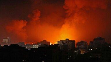 VIDEO | Iisrael pommitas Hamasi liidri kodu Gazas, palestiinlased hoidsid juudiriiki katkematu tule all