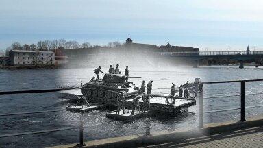 ФОТО | Какой была Нарва в военные годы? Сжигание немецких портретов, советские саперы и сожительство с оккупантами — в фотопроекте блогера RusDelfi