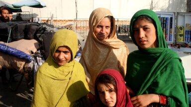 Afganistani tüdrukud Kabulis