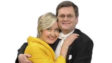 Marianne Mikko ja Peter Andrekson. Foto: Tanel Meos / Ekspress Meedia