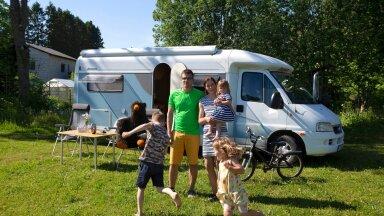 Hispaania, Itaalia, Maroko...karavanautoga reisiva pere jaoks on maailm valla!