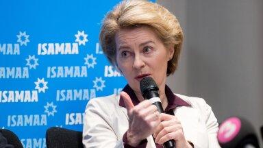Saksamaa kaitseminister Ursula von der Leyen Eestis