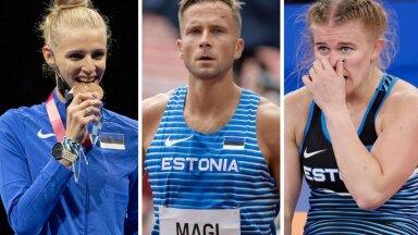 OLÜMPIASTUUDIO | Olümpiatuli on kustunud: kes olid suurimad eneseületajad ning lati alt läbi jooksjad?