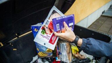 Keskmine eestlane viskab iga päev prügikasti 150 grammi toitu.