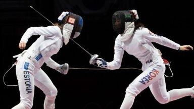 Irina Embrich tegi olümpiafinaalis kolm torget, igal neist oli kullahind.
