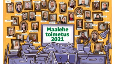 Maalehe toimetus 2021