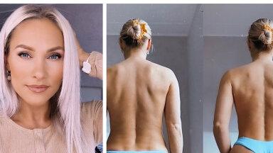 Õige poosi ning kõrge pihaga bikiinipükste saladus: Eesti fitnesskaunitar avaldas tõe sotsiaalmeedia fotode ja reaalsuse vahel