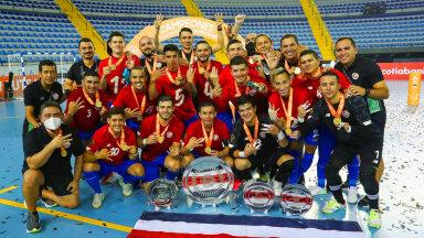 Мировой футзал: Коста-Рика опять сильнейшая на континенте!