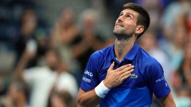 Novak Djokovic on sel aastal võitnud suure slämmi turniiridel kõik 26 kohtumist.