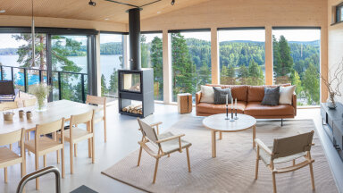 FOTOD | Eesti majatootja ehitas Soome elamumessile eksklusiivse villa