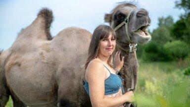 Jane Kurbas, Uusmäe talu, kaamel