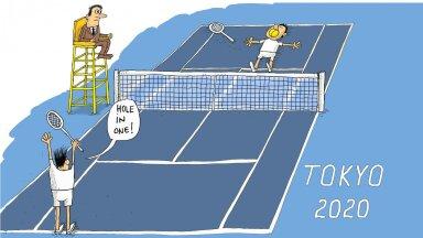 Tenniseajaloo esimene hole-in-one