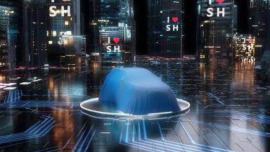 Shanghai autonäitusel saab näha Toyota uut elektrilist linnamaasturit