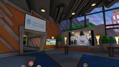 "3D keskkond ""Digital Youth – infoühiskonna noored"" õppemoodulis, koostöös MARU VR Productions OÜ-ga"