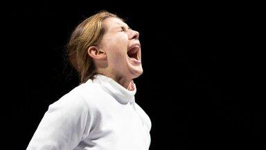 Kui karjuda, siis juba kõvasti! Julia Beljajeva pärast veerandfinaali Poola vastu.