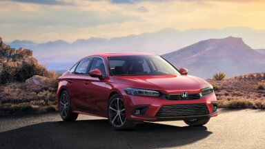 Ilmavalgust nägi Honda Civic 2022 – värskem välimus, parem tehnika, parem juhtida