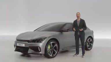 Verivärsked fotod ja video: Kia esitles uut elektriautot EV6