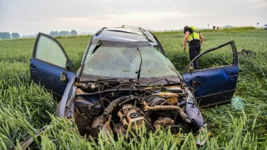 Põltsamaa lähistel juhtus raske liiklusõnnetus