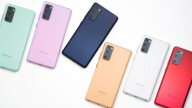 Samsung tegi odavama, suurema, värvilisema ja raskema tipptelefoni