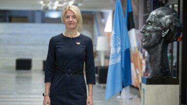 Välisminister Eva-Maria Liimets