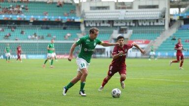 Konstantin Vassiljev kohtumises Varssavi Legia vastu.