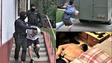 LUKAŠENKA RUSIKAS: Minsk, 29. juuli. Wagnerlaste vahistamine TV-kaamerate ees. Valgevene president haistab endavastast vandenõu. Algab kõrgete panustega riikidevaheline mäng.