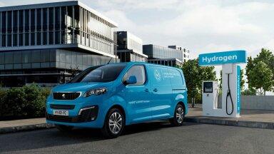 Fotod: Peugeot asus tootma vesinikkütusel töötavaid elektrikaubikuid