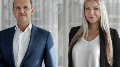 LEXTALi vaidluste valdkonna juht, vandeadvokaat ja partner Magnus Braun ja advokaat Ave-Ly Kõuts