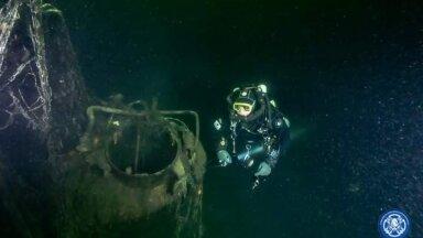 FOTOD | Eesti ja Vene sukeldujad leidsid sõjaaegse allveelaeva