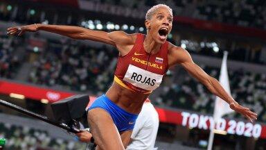 Yulimar Rojas ületas Tokyos kolmikhüppe maailmarekordi, mis oli püsinud 1995. aastast. Kõigest hoolimata suudetakse kergejõustikus piire nihutada.