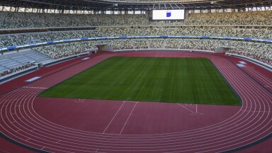 ФОТО и ВИДЕО | Смотрите, как выглядит новый Олимпийский стадион в Токио
