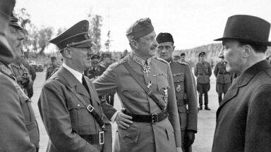 Hitler, Mannerheim ja president Ryti.