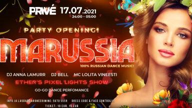 В эту субботу состоится долгожданная русская вечеринка Marussia