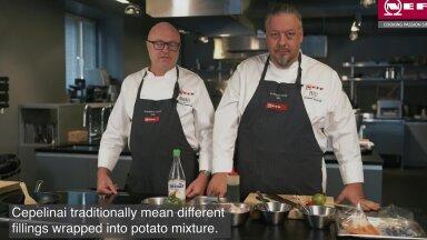 VIDEO JA RETSEPT | Eestlased Leedu köögi kallal ehk tsepeliinid 2.0: miks mitte keerata kartulikoogid pahupidi!