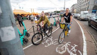 VIDEO   Paradiis Tallinnaga võrreldes! Vaata, millised tingimused on Helsingis loodud jalgratturitele
