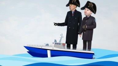Riigi laevastikud kolitakse esimest korda kokku, et kohe jälle lahku purjetada?