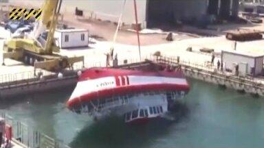 VIDEO | Täelik fiasko! Nende laevade vettelaskmine läks hoopis teisiti, kui planeeritud oli