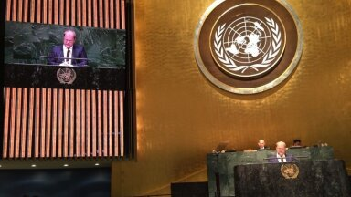 Urmas Paet at the UN General Assembly