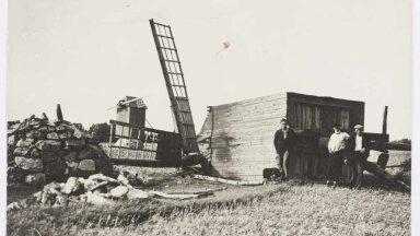 LÕI TUULIKU PIKALI: Torm murdis Saaremaal maha mitte ainuilt puid, vaid ka tuuliku.