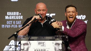 Conor McGregor pakkus UFC bossile kihlvedu, millest keeldumine säästis White'ile kolm miljonit dollarit