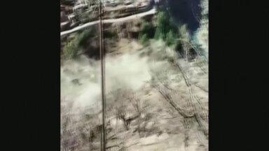 VIDEO | Himaalaja liustikust murdunud rahn purustas tammi, hukkus pea sada inimest