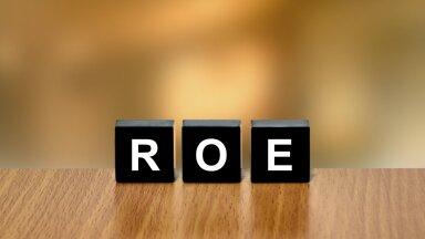 Kui ettevõte ei vaja kasvuks lisalaenu või -varasid, peaks ka omakapitali tootlus ehk ROE kasvama.