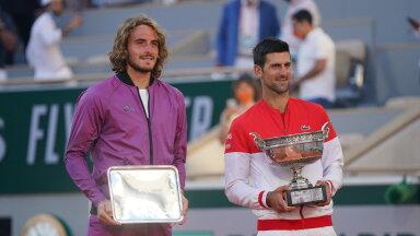 Esimest korda suure slämmi finaalis mänginud Stefanos Tsitsipas kaotas French Openil Novak Djokovicile.