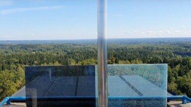 """ВИДЕО   Эстонские """"горы"""" и самая высокая точка в Прибалтике"""